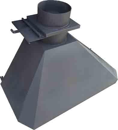 Дымоход для мангала из металла